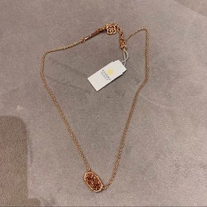 Kendra Scott Rose a good Druzy Necklace